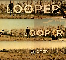 Looper - Movie Poster by Grildrig