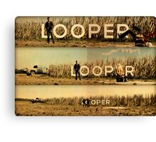 Looper - Movie Poster Canvas Print