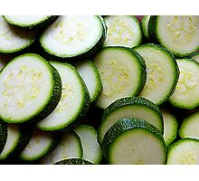 Courgettes Or Zucchini.........You Choose! Photographic Print