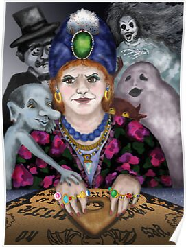 Madame Lovina's Haunted Talking Board by Kim  Harris