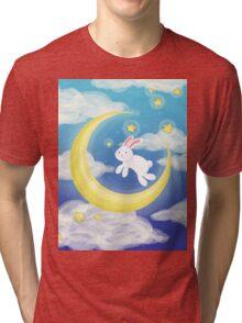 Bunny Blue Tri-blend T-Shirt
