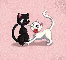 Kitty Flower by thedustyphoenix