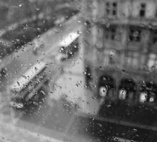 A Rainy Day in Edinburgh by caterpillarcat