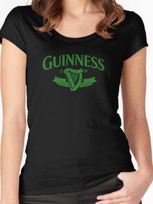 Guinness Dublin Ireland Women's Fitted Scoop T-Shirt