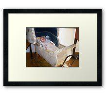 *Antique Dolls Pram in Antique Shop* - Harcourt, Vic Framed Print