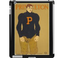 'Princeton' Vintage Poster (Reproduction) iPad Case/Skin