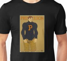 'Princeton' Vintage Poster (Reproduction) Unisex T-Shirt
