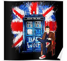 Police Box Bad Wolf Poster
