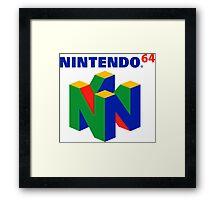 Nintendo 64 Logo HD Framed Print