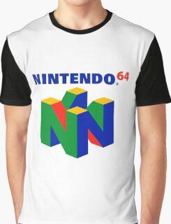 Nintendo 64 Logo HD Graphic T-Shirt