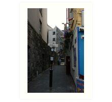 Kirwan`s Lane, Galway, Ireland Art Print