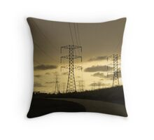 Powerful Landscape Throw Pillow