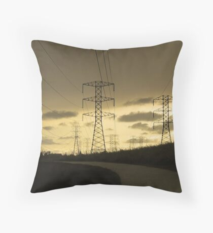 Powerful Landscape Throw Pillow