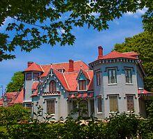 USA. Rhode Island. Newport. Kingscote mansion. by vadim19