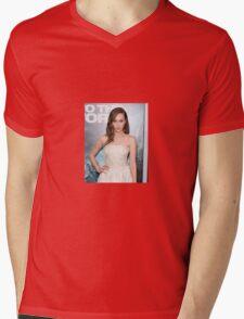 ALYCIA DEBNAM CAREY Mens V-Neck T-Shirt