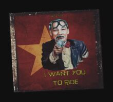 W'nR'n Uncle Ho Wants t-shirt by wrenchNrideN