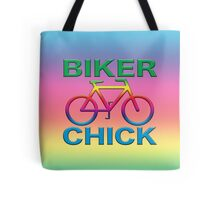 BIKER CHICK Tote Bag