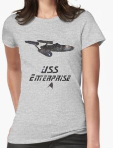 USS Enterprise Womens Fitted T-Shirt