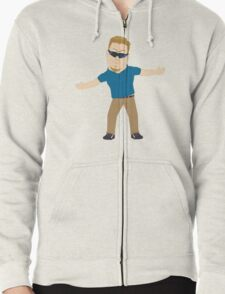 PC Principal (South Park) 2.0 [without text] Zipped Hoodie