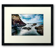 Tapeka Coast HDR Framed Print