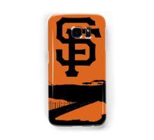 San Francisco Giants and the Golden Gate bridge Samsung Galaxy Case/Skin