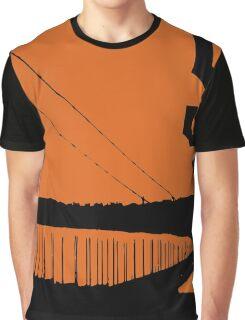 San Francisco Giants and the Golden Gate bridge Graphic T-Shirt