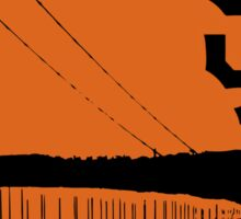 San Francisco Giants and the Golden Gate bridge Sticker
