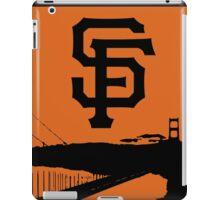 San Francisco Giants and the Golden Gate bridge iPad Case/Skin