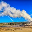 Rainbow of steam by Owed to Nature
