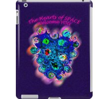A message from the HEARTS of space... iPad Case/Skin
