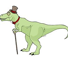 Dapper Dino by BugsAndMonsters