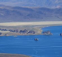 Pyramid Lake Sutcliffe Nevada USA by Anthony & Nancy  Leake