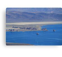 Pyramid Lake Sutcliffe Nevada USA Canvas Print