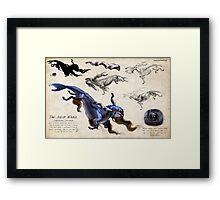 The Astor Whale Framed Print