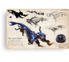 The Astor Whale Canvas Print