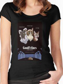 Good Felines Women's Fitted Scoop T-Shirt