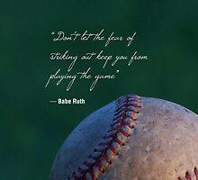 Babe Ruth Quote | Baseball by marcodeobaldia