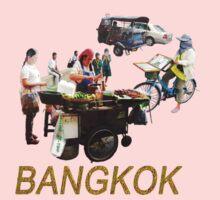 BANGKOK street scenes Kids Clothes
