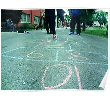 Teen Hopscotch Poster