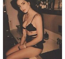 Halsey Vintage Polaroid Photographic Print