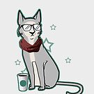 Hipster Cat by catarazzo