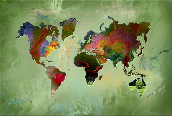 Green Planet by ArtByRuta