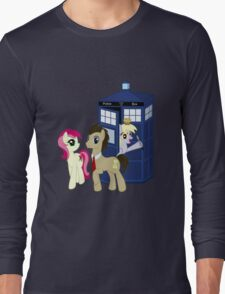 Dr. Whooves Design Long Sleeve T-Shirt