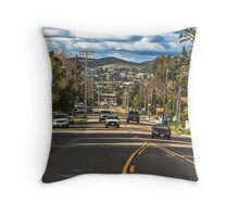 On the Street Where I Live Throw Pillow