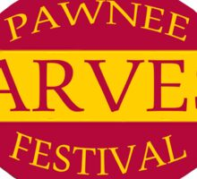 Pawnee Harvest Festival logo Sticker