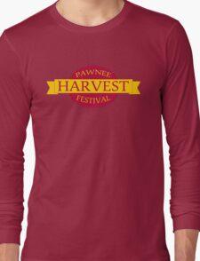 Pawnee Harvest Festival logo Long Sleeve T-Shirt