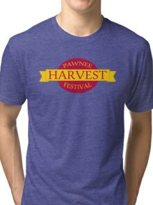 Pawnee Harvest Festival logo Tri-blend T-Shirt