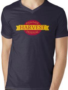 Pawnee Harvest Festival logo Mens V-Neck T-Shirt