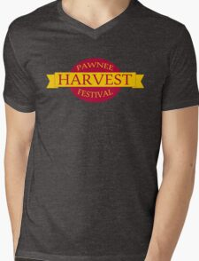 Pawnee Harvest Festival logo Mens V-Neck T-Shirt