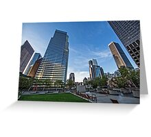 High Rises Greeting Card